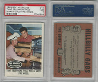 1963 Topps, Beverly Hillbillies, #11 That Telephone Pole Make, PSA 7 NM