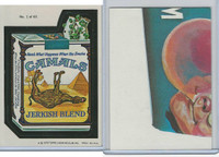 1979 Topps, Wacky Packs, #1 Camals Jerkish Blend