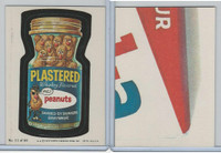 1979 Topps, Wacky Packs, #11 Plastered Whiskey Flavored Peanuts