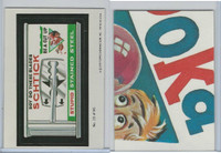 1979 Topps, Wacky Packs, #15 Schtick Stupid Stained Steel