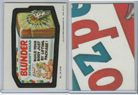 1979 Topps, Wacky Packs, #19 Blunder Bread