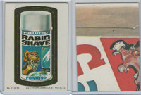 1979 Topps, Wacky Packs, #23 Rapid Shave