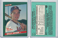 1986 Donruss Rookies Baseball, #1 Wally Joyner, Angels