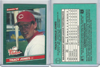 1986 Donruss Rookies Baseball, #2 Tracy Jones, Reds
