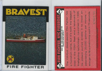 2009 Topps, American Heritage Chrome, #C38 NYC Fireboat, Firefighter