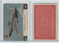 R112-Z Whitman, Zoom Airplane Card, 1941, #1 Curtiss P-40, USA