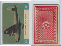 R112-Z Whitman, Zoom Airplane Card, 1941, #2 Short Sunderland, England