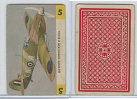 R112-Z Whitman, Zoom Airplane Card, 1941, #5 Hawker Hurricane, Britain