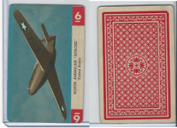 R112-Z Whitman, Zoom Airplane Card, 1941, #6 North American Apache