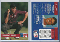1992 Pro Set Golf PGA Tour, #11 Billy Ray Brown