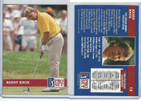 1992 Pro Set Golf PGA Tour, #13 Kenny Knox