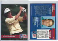 1992 Pro Set Golf PGA Tour, #16 Buddy Gardner