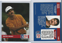 1992 Pro Set Golf PGA Tour, #100 David Frost