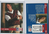 1992 Pro Set Golf PGA Tour, #152 J.P. Hayes