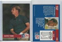 1992 Pro Set Golf PGA Tour, #156 David Toms
