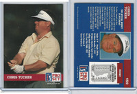 1992 Pro Set Golf PGA Tour, #159 Chris Tucker
