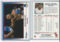 1991 Kayo Boxing Cards, #108 Reggie Johnson