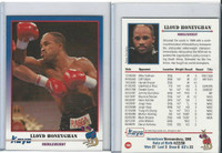 1991 Kayo Boxing Cards, #109 Lloyd Honeyghan