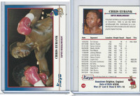 1991 Kayo Boxing Cards, #132 Chris Eubank
