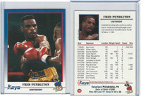 1991 Kayo Boxing Cards, #152 Fred Pendleton