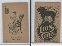 K37 Lion Coffee, Farming Subjects, 1910, HF-2 Grocer's Wife