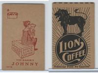 K37 Lion Coffee, Farming Subjects, 1910, HF-12 Baker's Johnny