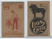 K37 Lion Coffee, Farming Subjects, 1910, HF-15 Baker's Man Servant