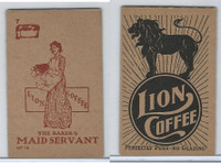 K37 Lion Coffee, Farming Subjects, 1910, HF-16 Baker's Maid Servant