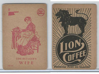 K37 Lion Coffee, Farming Subjects, 1910, HF-20 Butcher's Wife