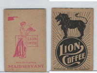 K37 Lion Coffee, Farming Subjects, 1910, HF-25 Butcher's Maid Servant