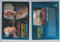 2013 Rittenhouse, Star Trek Next Generation H&V, #1 Captain Jean-Luc Picard