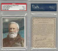 T118 Hassan, World's Greatest Explorers, 1910, Amos Bonsall, PSA 5.5 EX+