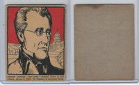 F278-50 Post Cereal, Famous North Americans, 1930's, Andrew Jackson