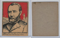 F278-50 Post Cereal, Famous North Americans, 1930's, Ulysses S. Grant