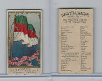 N10 Allen & Ginter, Flags of all Nations, 1890, Heligoland