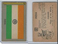 1950 Topps, Parade Flags Of The World, #15 India