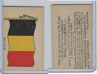 R51-2 Wilbur-Suchard Chocolate, Flags, Ser. 36, 1930's, Belgium