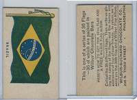 R51-2 Wilbur-Suchard Chocolate, Flags, Ser. 36, 1930's, Brazil