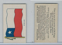 R51-2 Wilbur-Suchard Chocolate, Flags, Ser. 36, 1930's, Chile