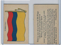R51-2 Wilbur-Suchard Chocolate, Flags, Ser. 36, 1930's, Columbia