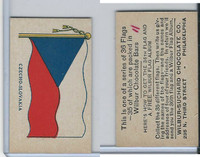 R51-2 Wilbur-Suchard Chocolate, Flags, Ser. 36, 1930's, Czechoslovakia