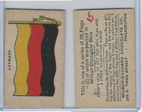 R51-2 Wilbur-Suchard Chocolate, Flags, Ser. 36, 1930's, Germany
