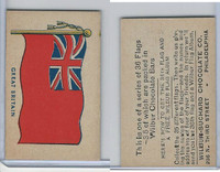 R51-2 Wilbur-Suchard Chocolate, Flags, Ser. 36, 1930's, Great Britain