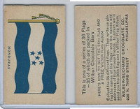 R51-2 Wilbur-Suchard Chocolate, Flags, Ser. 36, 1930's, Honduras