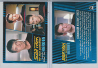 2013 Rittenhouse, Star Trek Next Generation H&V, #2 Commander William T. Riker