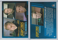 2013 Rittenhouse, Star Trek Next Generation H&V, #13 Lieutenant Reginald Barclay