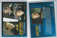 2013 Rittenhouse, Star Trek Next Generation H&V, #17 Chief Miles O'Brien