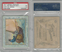 T62 Turkish Trophies, Fortune Series, 1910, You Are Remarkable, PSA 1.5
