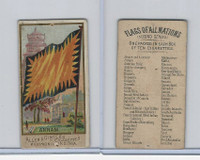 N10 Allen & Ginter, Flags of all Nations, 1890, Annam