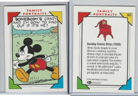 1992 Impel, Walt Disney Cards, #161 Mickey Mouse